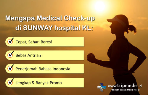 Paket Medical Check Up Sunway Hospital Malaysia